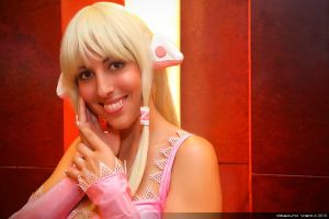 Chobits - Chii Smile by shadowhearts