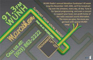 WUNH Marathon Poster by MadejyalookGraphics