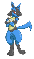 Lucario by xIce-Wolf