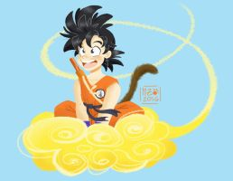 Son Goku by linxchan91