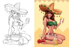 Tequila honey by Elias-Chatzoudis