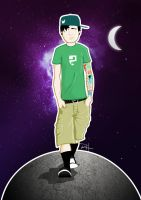 Tom Delonge by rflhnsn