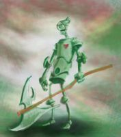 Warrior tin man quick by Tentu