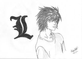 Death Note - L by RafaARP