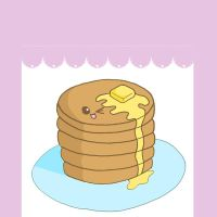 Penny the pancake stack by VenomousDesires