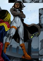 Ms. Marvel Times 2 by Bach2099