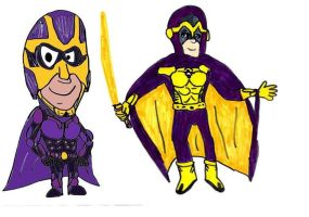 Two Bibleman Pictures by SonicClone