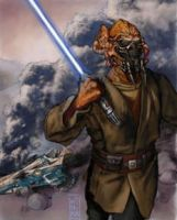 Plo Koon Survives by Shikamarushake