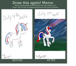 Blitzy Burst then and now by XNightdreamxDaymareX