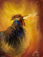 Rooster of Satan by DuneWR