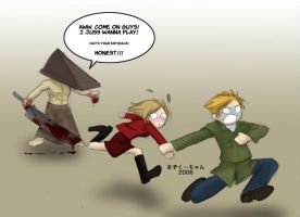 Silent Hill 2 ate my brain by mazoku-chan