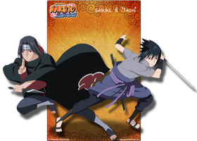 Sasuke And Itachi by Apostoll
