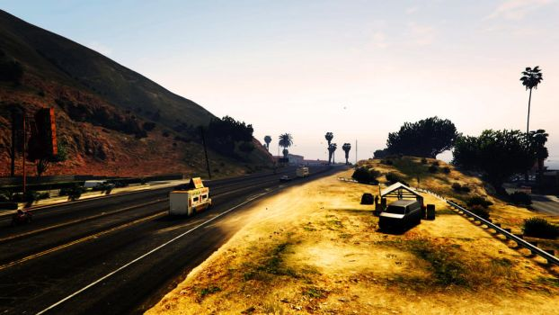 GTA 5 - Photography II by connectedbylateralus