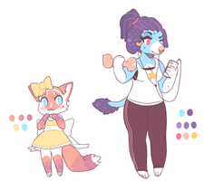 adopts 2 by slimeboys