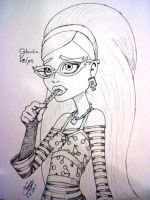 Lovely Zombie Ghoulia Yelps by zmorphcom