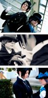 Black Butler - Face to face by RoteMamba