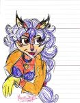 Pen and Marker Challenge: Carmelita by Moon-Shyne