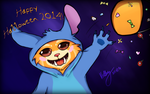 Gnar wishes Happy Halloween 2014! by SummonnerYuna