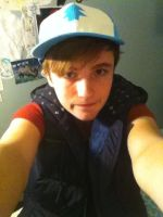 Dipper Pines Cosplay 2 by SwankyBird