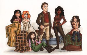 Mal And The Gals by dsoloud