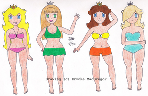 Beach Babes by dancefever92