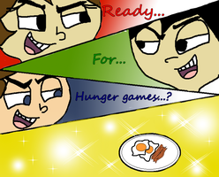 Hunger games? by LittleThingsCxD
