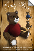 Teddy Bear icons - new release by GianlucaDivisi