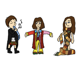 Doctor Who - Clothes Swap by PrincessHannah