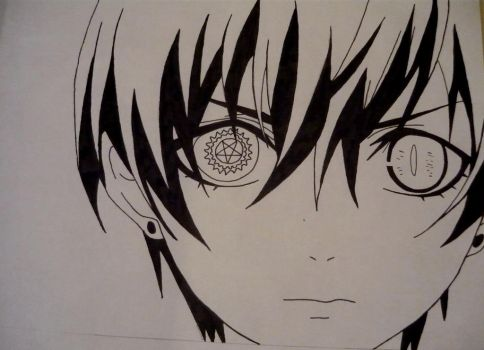 How to draw ciel phantomhive