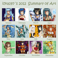 izka197's 2012 Art Summary by izka197
