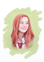 Lily Evans by Flomaniaque