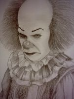 Pennywise sketch2 by mikegee777