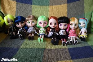 Doll Family by miercoles666