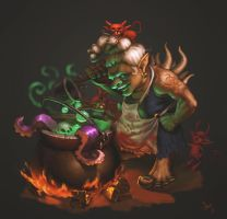 Hell cook by Ann-Jean