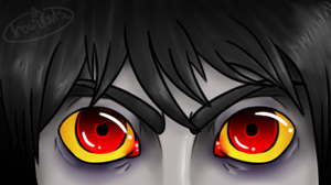 Eyes of a lowblood by EyelessArtist