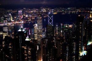 Hong Kong - City Lights by castles-609