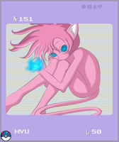 PKMN: Gijinka Pokedex Mew by ShinyObject01