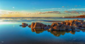 Low Tide at Yachats by cokehead666