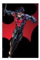 nightwing   march26th2014 by spiderguile XGX by knytcrawlr