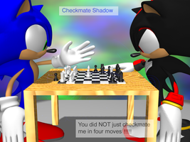 Request: Sonic VS Shadow... by Adreos