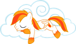 Candlewyx Napping by pageturner1988