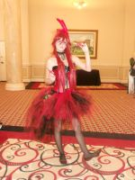 Umicon'14, Black Butler: Burlesque Grell by CronaBaby
