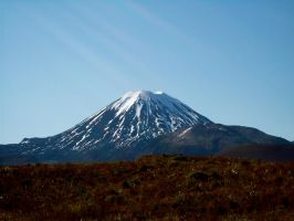 Mt Doom - Early Spring by Applemac12
