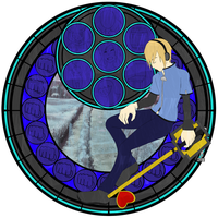 :Stained Glass: Pewdiepie by PowBunny