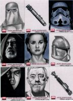 Star Wars Galaxy 4 Set 5 by RandySiplon
