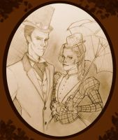 Mister Holmes and Miss Hooper by lexieken