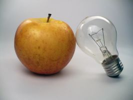 Apple_bulb by VVolny