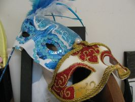 Venetian Masks by Shinigamichick39
