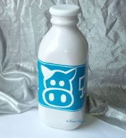 Lon Lon Ranch Milk Bottle Hand Painted Zelda OOAK by TorresDesigns
