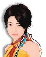 Aya Ueto in vector by TraceLandVectorie03